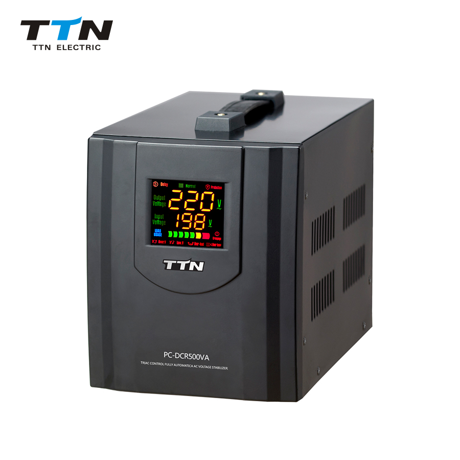 PC-DCR0.5Kva-10Kva Triac Control Voltage Stabilizer